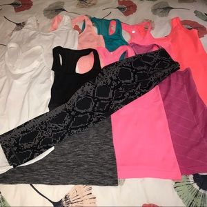 Lululemon tanks and wunder under bundle!
